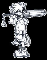 Sora (Early Concept) 1 (Art)