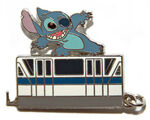WDW - Monorail Pin Collection - Mystery Tin Set - Stitch