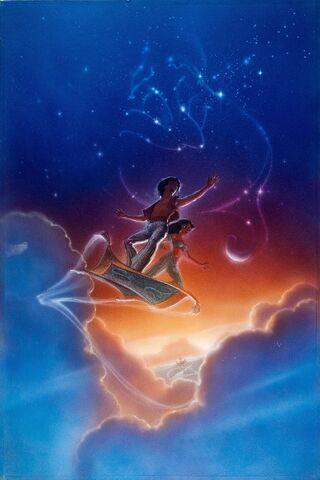 File:Disney's Aladdin - Unused Concept Poster Art by John Alvin - 1.jpg