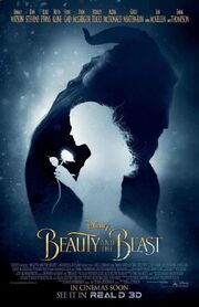 Beauty and the Beast (2017) - Shadow Poster