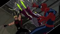 Beetle Spider-Man Hawkeye USM