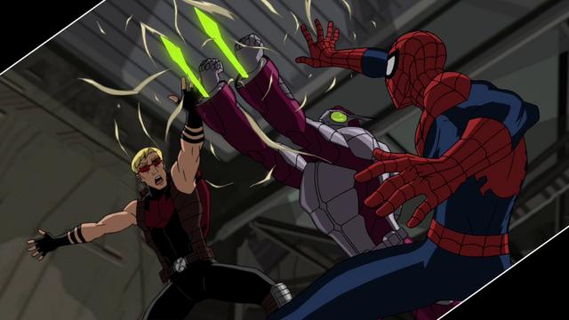 File:Beetle Spider-Man Hawkeye USM.png