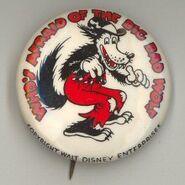 Big bad wolf pin