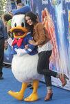 Donald Duck with Vanessa Hudgens