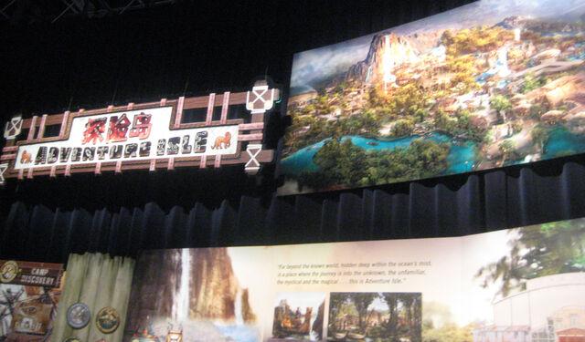 File:Shanghai Disneyland Adventure Isle Exhibit 01.jpg