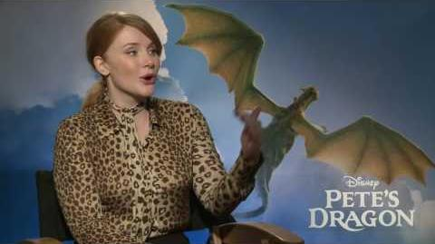 Pete's Dragon Interview - Bryce Dallas Howard