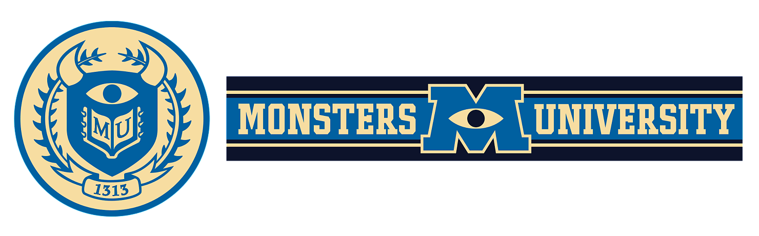 image - monsters university emblem | disney wiki | fandom