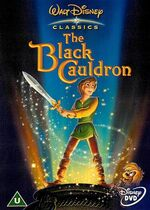 The Black Cauldron 2002 UK DVD