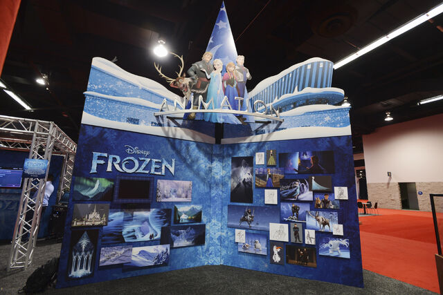 File:D23 Expo 2013 Frozen Booth.jpg