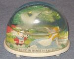 Marx alice in wonderland snow dome 640