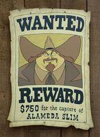 Alameda Slim Wanted Poster