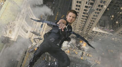 Hawkeye Falling