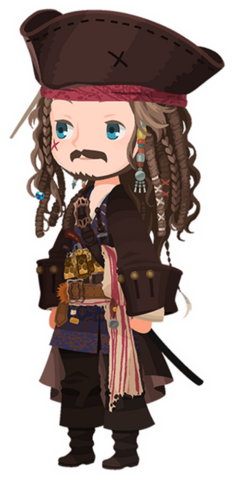 File:Jack Sparrow Costume Kingdom Hearts χ.png