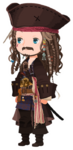 Jack Sparrow Costume Kingdom Hearts χ