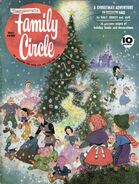 Family Circle December 1958 cover