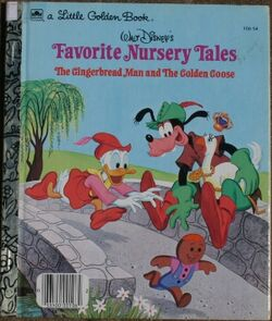 Walt Disneys Favorite Nursery Tales The Gingerbread Man and The Golden Goose