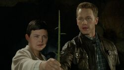 Once Upon a Time - 6x07 - Heartless - Snow and David with Sapling
