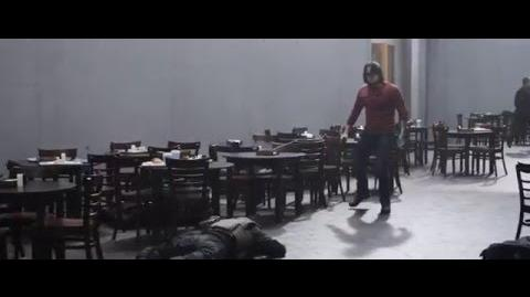 Captain America Civil War - The Team Vs Bucky clip HD UK