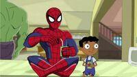 Baljeet and Spider-Man