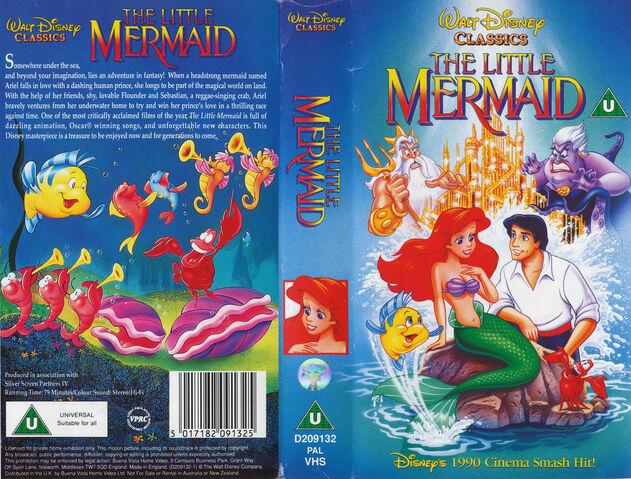 File:The Little Mermaid VHS UK 1991.jpg