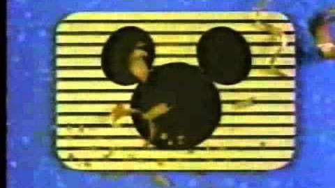 Mickey - Wooden Blocks
