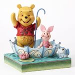 50 Years of Friendship-Pooh and Piglet Sharing Figurine