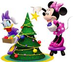 MMCH Minnie and Daisy Christmas
