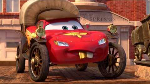 Radiator Springs 500 1 2 - McQueen Gets Challenged