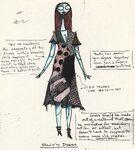 SallyDress ConceptArt