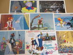 The sword in the stone lobby cards