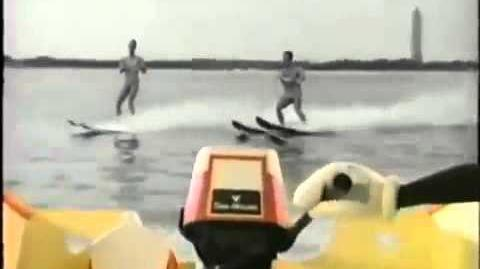 Mickey's Waterskiing