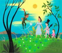 Concept of Peter Pan