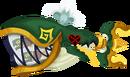 Green Trident Tail KHX