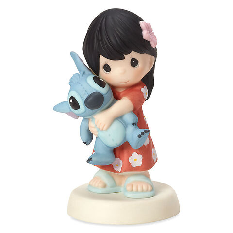 File:Girl as Lilo with Stitch Figure by Precious Moments.jpg