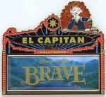 DSF - El Capitan Marquee - Disney Pixar's Brave