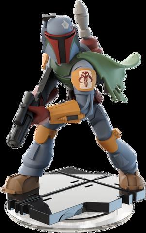 File:Boba Fett Disney INFINITY Figurine.png
