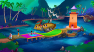 Pirate Putt-Putt CourseHole two
