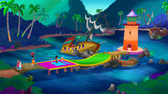 File:Pirate Putt-Putt CourseHole two.png
