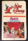 Alice in Wonderland 1981 VHS