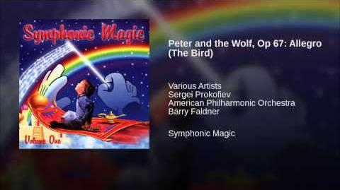 Peter and the Wolf, Op 67 Allegro (The Bird)