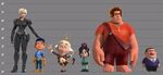 Wreck it ralph line up