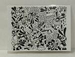 Disney WonderGround Oswald The Lucky Rabbit Doodle Postcard by Matt Hawkins