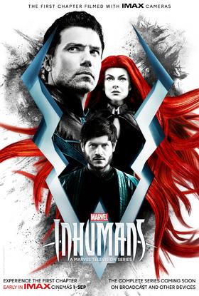 Inhumans IMAX poster
