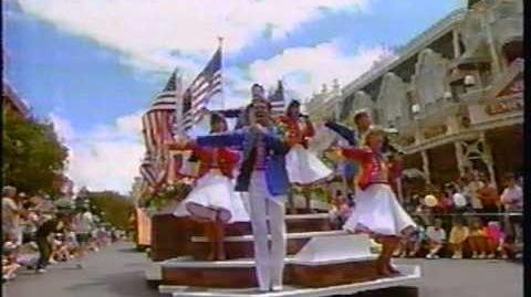 Disney World Parades 4th July Spectacular Parade 1991