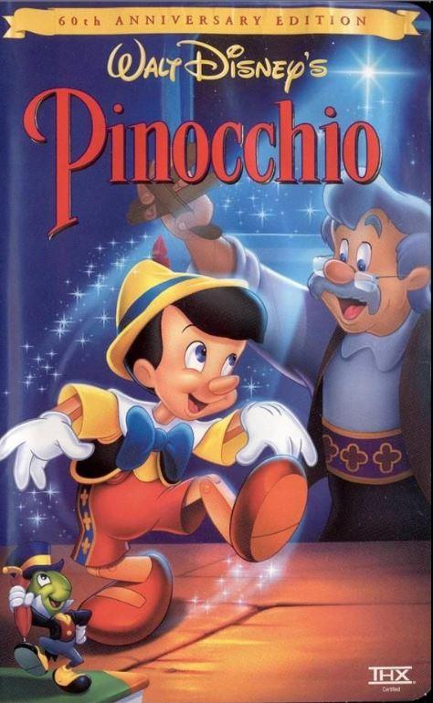 Image - Pinocchio 60th Anniversary Edition VHS.jpg ...