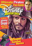 Disney Adventures Magazine cover June July 2007 Johnny Depp Pirates of the Caribbean