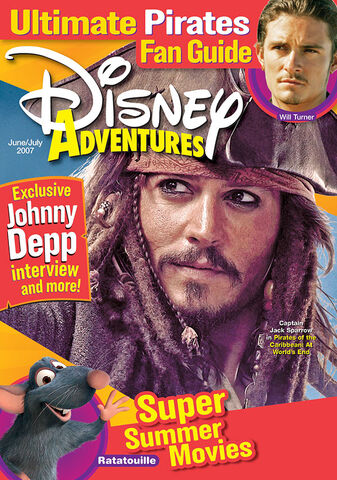 File:Disney Adventures Magazine cover June July 2007 Johnny Depp Pirates of the Caribbean.jpg