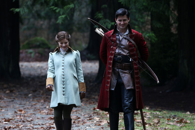 File:Once Upon a Time - 5x17 - Her Handsome Hero - Publicity Images - Belle & Gaston.jpg