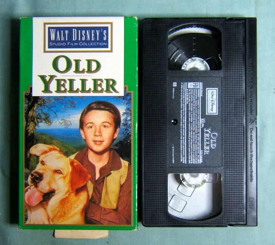File:Walt Disney Studio Film Collection - Old Yeller - Front and Tape.JPG