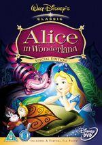 Alice in Wonderland SE 2005 UK DVD